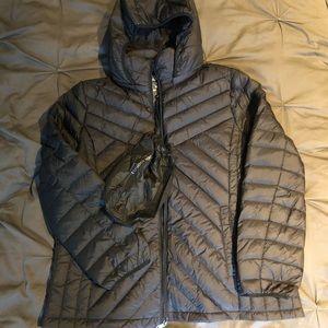 NWT London Fog Lightweight Packable Down Jacket XL
